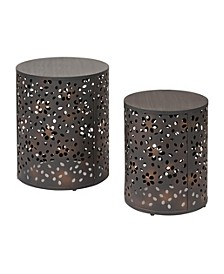 Middleton 2pc End Table Set