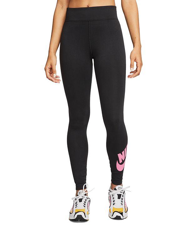 Nike Women's Sportswear Logo High-Waist Leggings