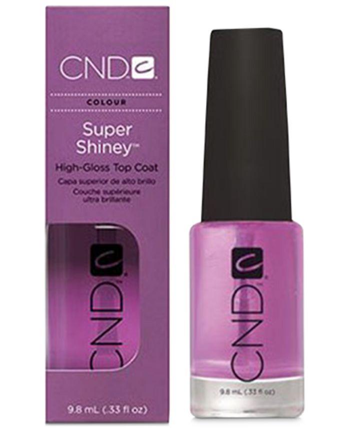 CND - Creative Nail Design Super Shiney Top Coat, 0.33-oz.