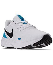 Men's Revolution 5 Running Sneakers from Finish Line