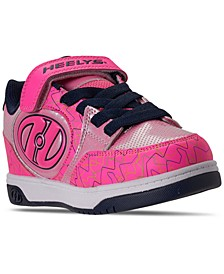 Big Girls Bolt Plus X2 Light-Up Wheeled Stay-Put Closure Casual Athletic Skate Sneakers from Finish Line