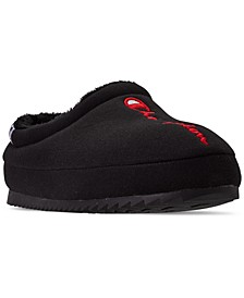 Men's Shuffle Script Slippers from Finish Line