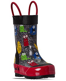 Toddler Boys Monsters Rain Boots from Finish Line
