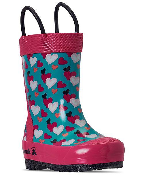 Kamik Toddler Girls Lovely Rain Boots from Finish Line