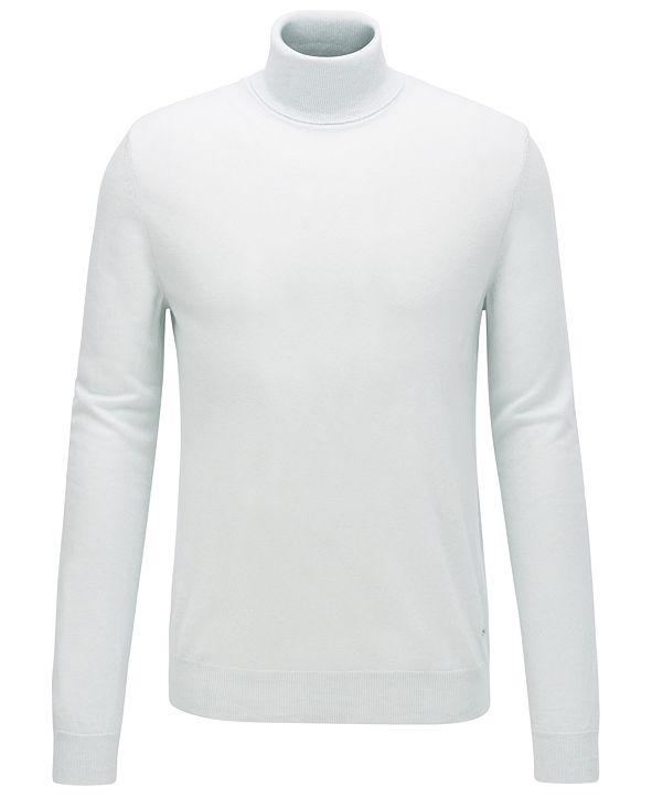 Hugo Boss BOSS Men's T-Bernardo Cashmere Turtleneck Sweater