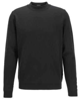 Small RRP£105 Men/'s Hugo Boss Jumper Sweater Navy Long Sleeve Size