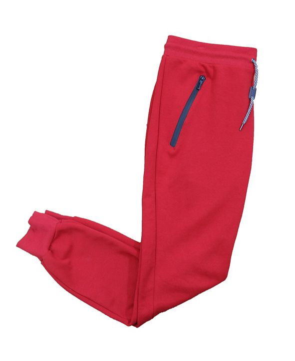 Galaxy By Harvic Women's Tech Fleece Joggers with Bonded Zipper Pockets
