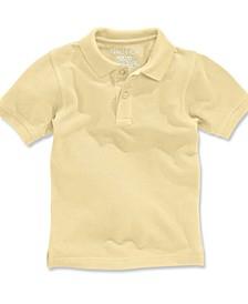 Big Boys & Husky Boys Short-Sleeve Uniform Polo