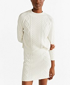 Knitted Miniskirt