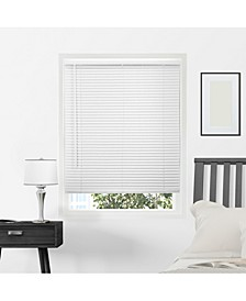 "Cordless 1"" Mini Blinds, Horizontal Venetian Slat Window Shade"