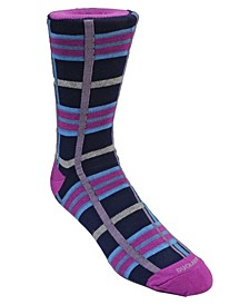 Men's Plaid Dress Sock