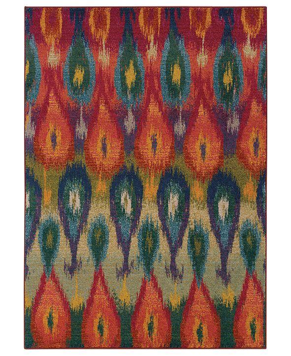 Oriental Weavers Rugs, Kaleidoscope 2061Z Vibrant Flame