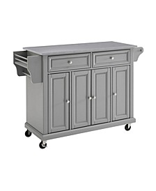 Stainless Steel Top Kitchen Cart, Island