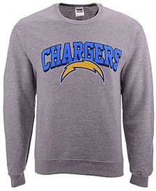 Men's Los Angeles Chargers Classic Crew Sweatshirt
