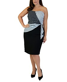 Plus Size Bustier Sheath Dress