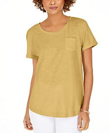 Cotton Crew-Neck T-Shirt, Created for Macy's