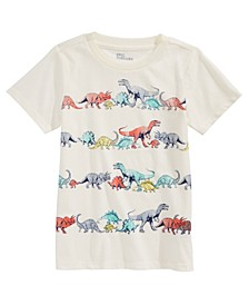 Toddler Boys Dino Stripe T-Shirt, Created For Macy's