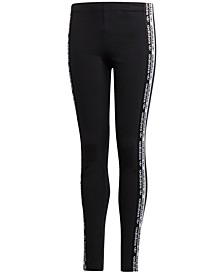 Big Girls Logo Tape Leggings