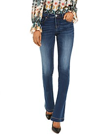 INC Petite Bootcut Tummy Control Jeans, Created for Macy's