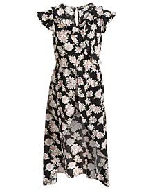 Little Girls Daisy Walk-Through Romper Dress, Created for Macy's