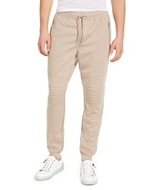 INC Men's Knit Moto Jogger Pants, Created for Macy's