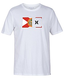 Men's Destination Half Flag Graphic T-Shirt