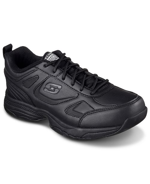 Women's Work Relaxed Fit Dighton Bricelyn Wide Width Slip Resistant Work Athletic Sneakers from Finish Line