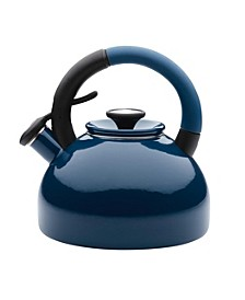Enamel-on-Steel 2-Qt. Morning Brew Tea kettle