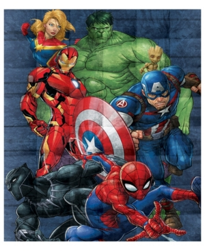 Avengers Super Hero 5lb Weighted Blanket Bedding