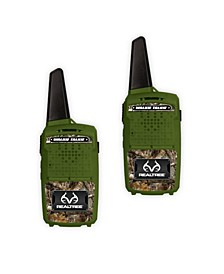Realtree 1000' Range Walkie-Talkies Set