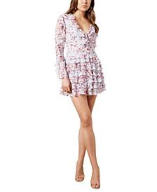 Lianna Frill A-Line Dress