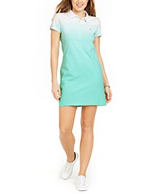 Ombré Polo Dress, Created for Macy's