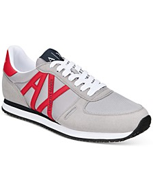 Armani Exchange Men's AX Logo Sneakers