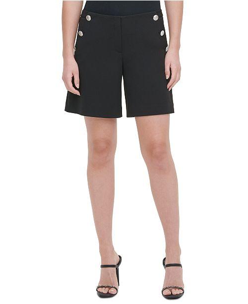 Calvin Klein Button-Pocket Shorts