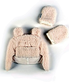 Super Soft Plush Sherpa Hat Mittens Set