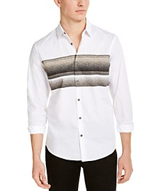 Men's Striped Chest Shirt, Created for Macy's
