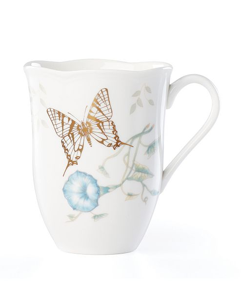 Lenox Butterfly Meadow Gold - 20th Anniversary Tiger Swallow Mug
