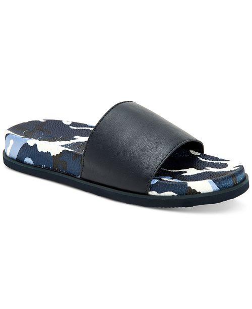 Calvin Klein Men's Montana Camouflage Slide Sandals
