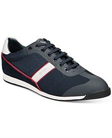 HUGO Men's Glaze Low-Profile Mesh Sneakers
