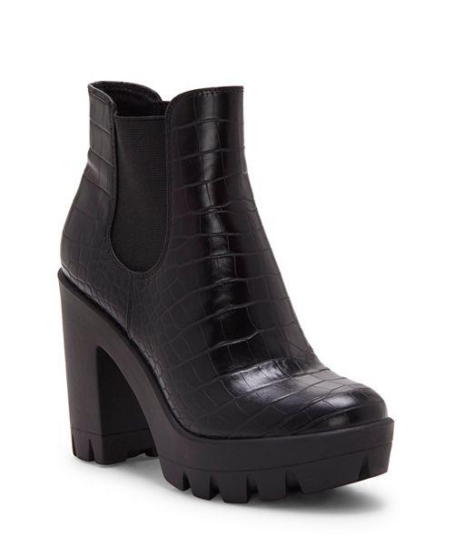 Jessica Simpson Miraney Lug Sole Platform Booties