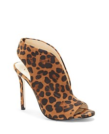 Javrey Peep-Toe High-Heel Shooties