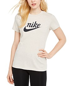Women's Sportswear Cotton Varsity T-Shirt