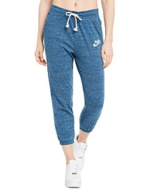 Women's Gym Vintage Capri Sweatpants