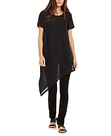 Silk Asymmetrical Tunic
