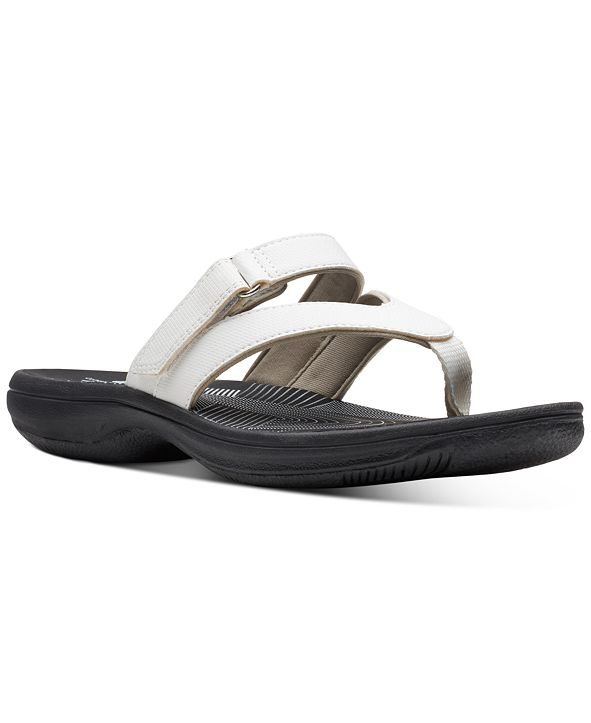 Clarks Collection Women's Brinkley Marin Flip-Flop Sandals