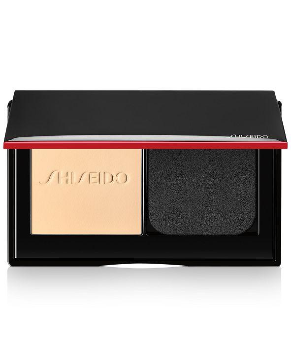 Shiseido Synchro Skin Self-Refreshing Custom Finish Powder Foundation, 0.31-oz.