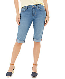 Style & Co Cuffed Skinny Skimmer Jeans, Created for Macy's