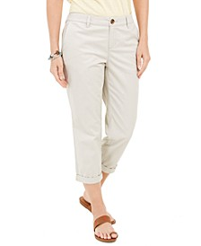 Chino Capri Pants, Created for Macy's