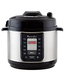 Quick Menu 6-Qt. Stainless Steel Pressure Cooker