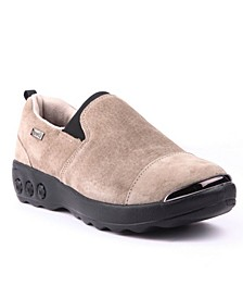 Shoe Samantha Suede Slip On Casual Shoe